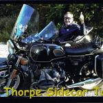 UK Animal Planet host Nigel Marvin enjoys an afternoon with Jim Thorpe Sidecar Tourz.