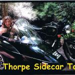 Amy gives Jim Thorpe Sidecar Tourz two thumbs up.