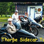 John and Edna during their sidecar tour. John said he always wanted a sidecar when he was young.