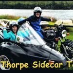 Steven celebrates his 65th birthday with a sidecar tour with his wife Karen.