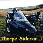 Stephen from Little Egg Harbor, NJ. takes a break from his HD sportster for a sidecar tour.