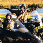 Janelle and Kory from Phoenixville, Pa taking in the autumn splendor with a sidecar ride.