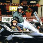 John and Carole loved their gift for a sidecar adventure.