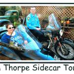 Deb received her sidecar tour as a gift from her boyfriend.
