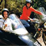 Rose gives her fiance Josh a surprise birthday sidecar tour!
