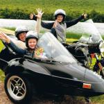 Amy, Chase and Jenna loved their sidecar excursion!