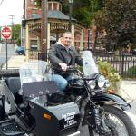Please join us in welcoming Tony, Jim Thorpe Sidecar Tourz newest tour guide!