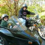 Michael from Arnot,Pa. & Mary from Wellsboro,Pa. enjoyed their outing on a beautiful Autumn day.