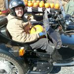 Alex was treated to a sidecar adventure for his 27th birthday. He loved it!