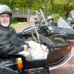 Trish and Jeff get to check scenic sidecar ride off of their bucket list.