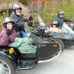 Cousins & friends Larry & Tom returned with Sheila & Sharon for their 2nd sidecar adventure.They can hardly wait to return for another!