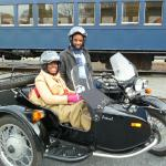Omar and Keneese from Elmwood Park NJ LOVED their first motorcycle ride ever!!!