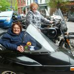Life-long friends Pat and Carol together check their bucket list off with a beautiful sidecar tour throughout the beautiful Jim Thorpe area. Way to go girls, you rock!