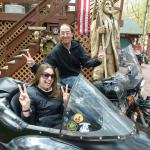 We had a blast with my good friends Sarah and Jeremy from Milford, Pa. A DSO concert & a sidecar adventure! Life just doesn't get any better than this!