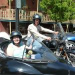 June and Joe from Filion, Michigan had a glorious Spring day to take in the sights of historic Jim Thorpe.