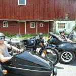 Michaela and Michael from Cherry Hill, NJ celebrate their Memorial Day holiday with a beautiful wine tasting tour; all while enjoying life from a sidecar.