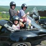 Nana Patsy from Raleigh NC, took her grandchildren on an unforgettable sidecar tour. What a great vacaction!!!