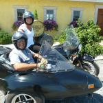 Carolyn and Angel from Vineland, NJ loved their wine tasting experience almost as much as their sidecar excursion to get there!