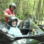 David and Susan from Traverse City, Michigan enjoyed a perfect summertime sidecar adventure.